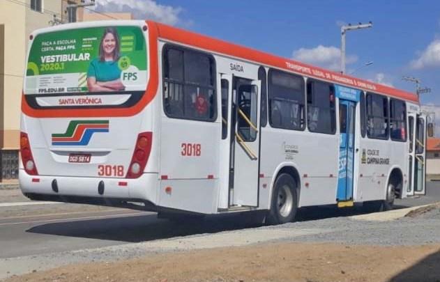 PB: Campina Grande segue com frota reduzida de ônibus por conta da Covid-19