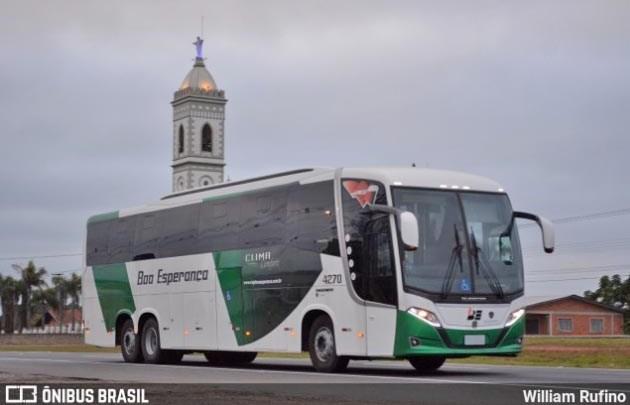 Viação Boa Esperança renova com ônibus Busscar e chama atenção