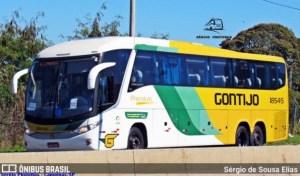 BA: Dois ônibus da Gontijo são alvo de marginais na BR-101. Confira o vídeo