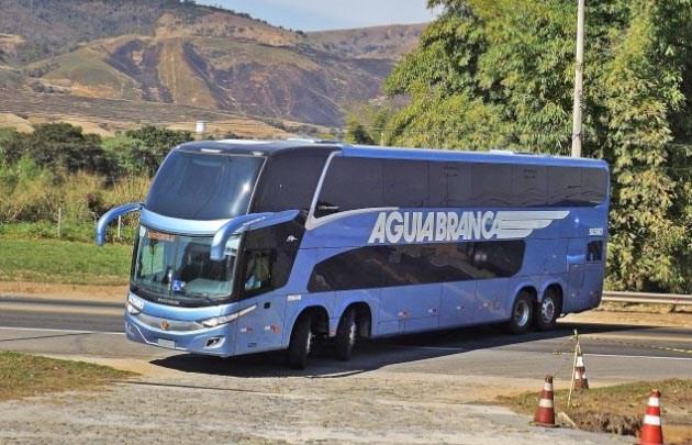 Viação Aguia Branca renova parte da frota com mais ônibus New G7