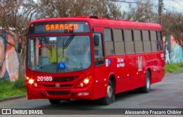 PR: Motorista de ônibus de São José dos Pinhais morre em decorrência da Covid-19