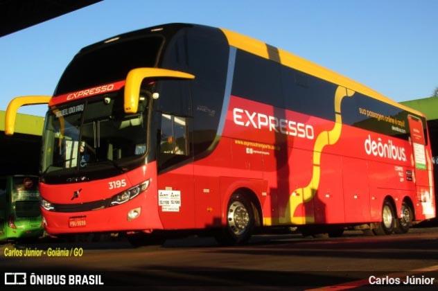 Expresso Transporte firma parceria com site Deônibus e chama atenção em Goiás