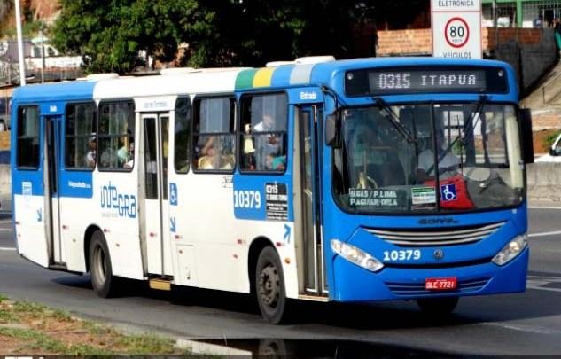 Marginal morre após tentar assaltar ônibus no bairro de Itapuã em Salvador