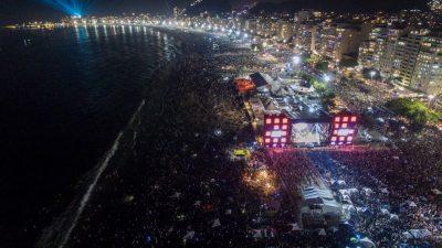 Riotur reitera que o réveillon do Rio não foi cancelado e fogos são mantidos
