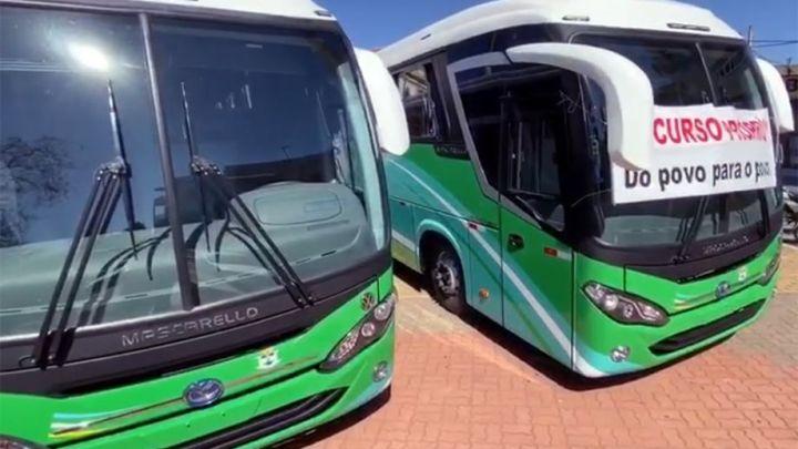 SP: Pilar do Sul adquire dois ônibus novos para a Saúde