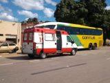 CE: Ônibus da Gontijo é interceptado em barreira sanitária no Crato