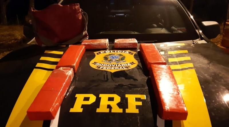 MG: PRF apreende entorpecentes em ônibus na BR-365 em Patos de Minas