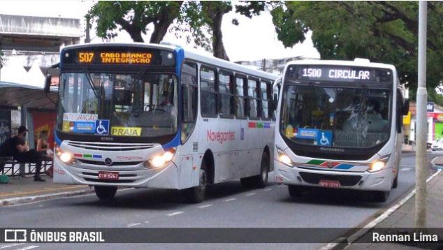 João Pessoa reforça frota em oito linhas de ônibus a partir desta segunda-feira