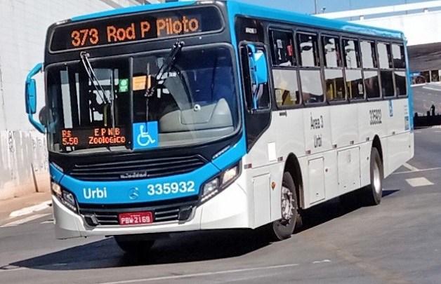 DF: Polícia prende homem que arremessou pedra em ônibus da Urbi Mobilidade Urbana