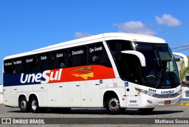 Viação Unesul estuda implantar ônibus com três fileiras de poltronas
