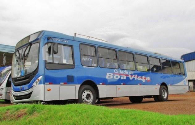 Acidente entre moto e ônibus deixa grávida ferida em Boa Vista