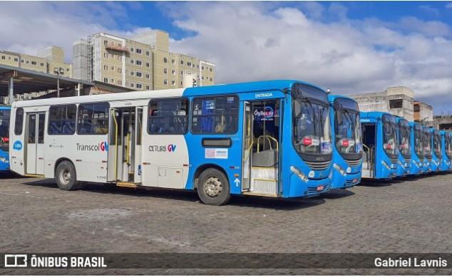 Rodoviários da empresa Metropolitana realizam paralisação na Grande Vitória