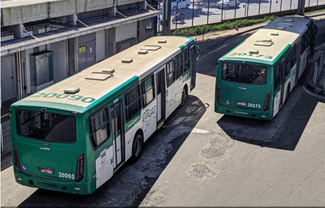 Salvador registra assalto em dois ônibus nesta quarta-feira