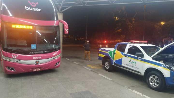 São Paulo: Operação da ANTT apreende ônibus da 4Bus e Buser