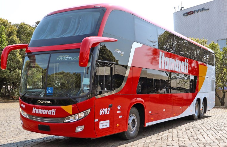 Expresso Itamarati renova com seis ônibus Comil. Confira a lista
