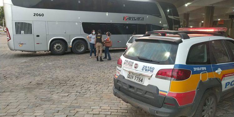 MG: Idoso acaba morrendo dentro de ônibus que seguia para Governador Valadares
