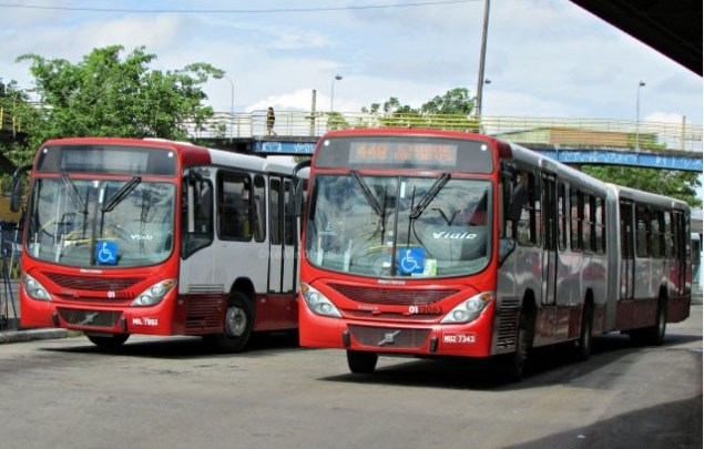 Manaus: Clima tenso durante viagem de ônibus da linha 448, nesta sexta-feira