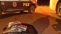 Vídeo: PRF apreende passageiro de ônibus em fiscalização na BR-365 em Pato de Minas