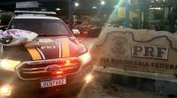 Vídeo: PRF prende três passageiras de ônibus  na Chapada Diamantina