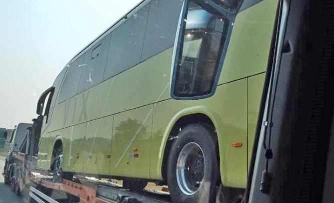 Vix do Grupo Aguia Branca incorpora ônibus rodoviário elétrico