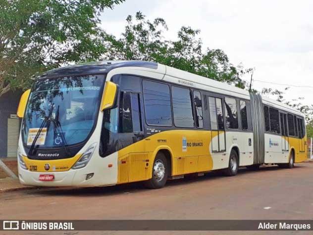 Rio Branco passa utilizar articulado e biarticulado após mudanças de rotas