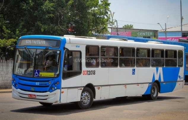 Vídeo: Manaus vive manhã de superlotação em ônibus e aglomerações em terminais