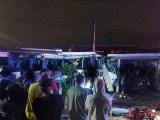 Curitiba: Acidente entre micro-ônibus e trem deixa um morto e dez feridos no Cajuru