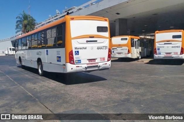 Ônibus da Auto Viação Marechal voltam a circular no Distrito Federal, após paralisação