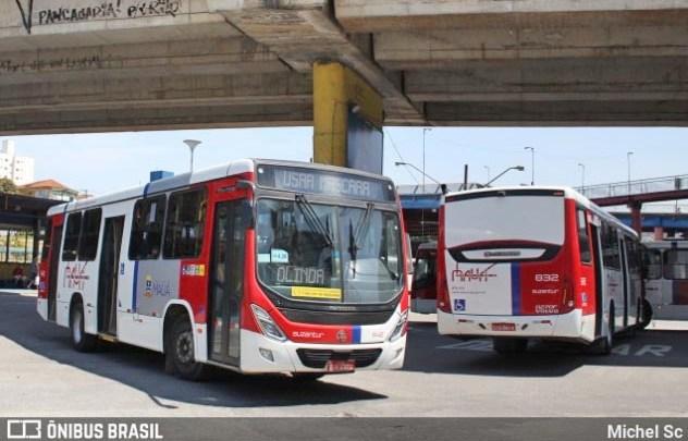 STF determina o retorno de toda frota de ônibus da Suzantur na cidade de Mauá