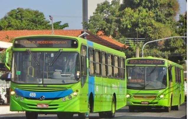 Teresina terá frota de ônibus reduzida em 50% no feriado de Aparecida