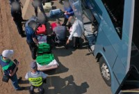 SP: Fiscalização em ônibus na rodovia Anhanguera apreende homem com entorpecentes