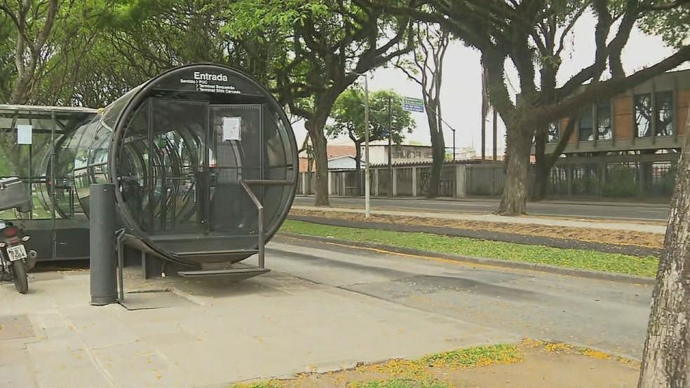 Curitiba: Estações-tubo do Teatro Paiol são desativadas por 20 dias devido obras da prefeitura