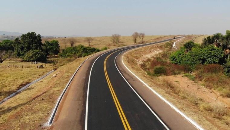 MS: DNIT entrega 14,6 quilômetros de pista pavimentada na BR-419
