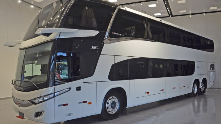 Vídeo: Marcopolo lança ônibus rodoviário com espelhos eletrônicos. Veja o que muda