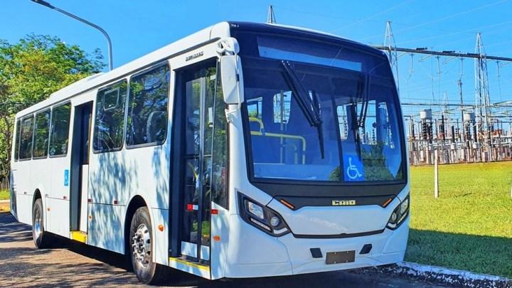 ES: Unimar Transportes renova com dois ônibus elétricos modelo Caio Millenium