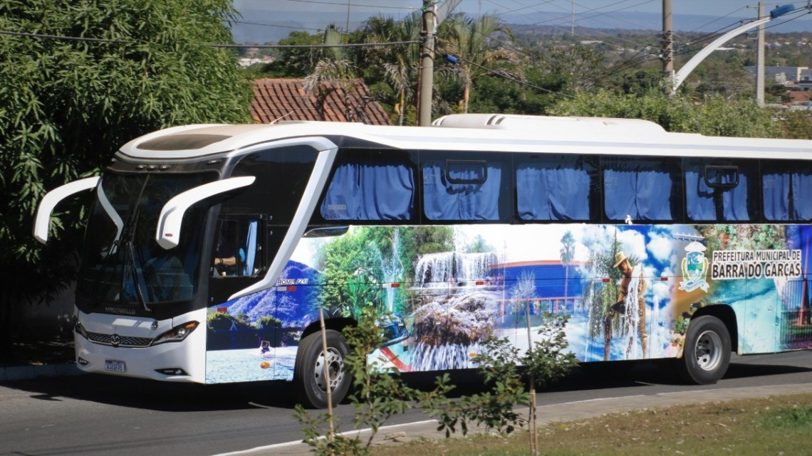 MT: Barra do Garças adquire ônibus rodoviários para o transporte escolar