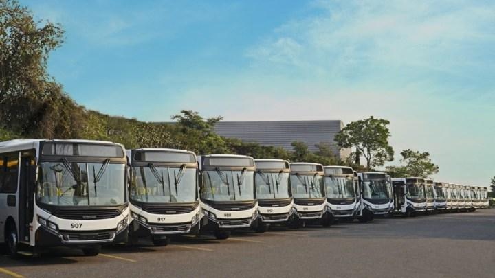 Caio exporta 132 novos ônibus Apache VIP para Angola