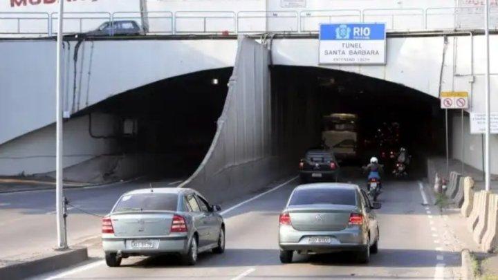 Rio: Intenso tiroteio fecha temporariamente o Túnel Santa Bárbara na Zona Sul