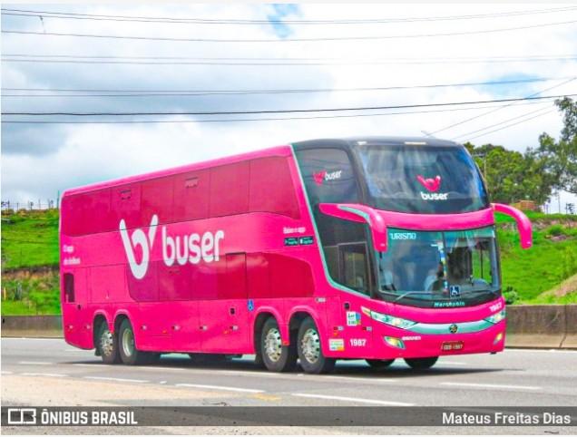 Justiça proíbe apreensão de ônibus da Buser em São Paulo e no Distrito Federal