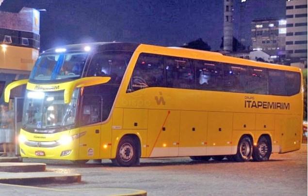 Viação Itapemirim escala ônibus LD na Rio x Salvador x Rio, chamando atenção de clientes