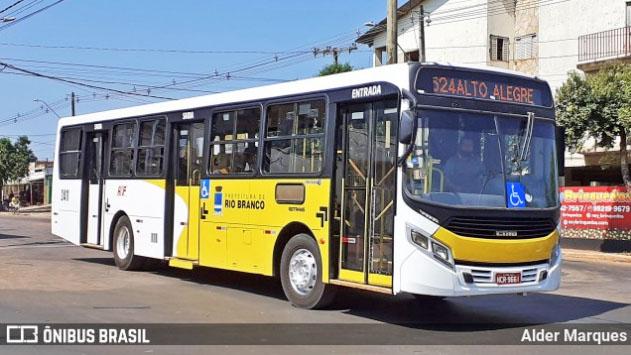 Prefeitura de Rio Branco anuncia nova rota de ônibus neste mês de novembro