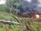 BA: Acidente entre carreta, ônibus e caminhonete fecha a BR-101 em Itapebi, neste sábado