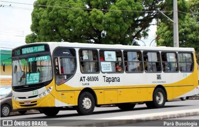 Belém: Cobrador acaba morto após ser atropelado por ônibus dentro de garagem onde trabalhava