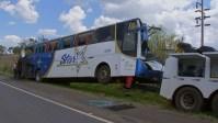 SP: Divulgado a lista de passageiros do acidente com ônibus em Taguaí
