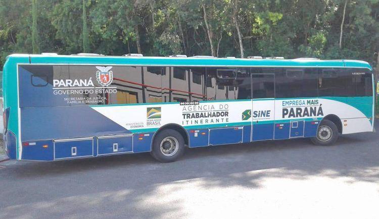 PR: Ônibus da Agência do Trabalhador vai ofertar vagas em Guaratuba