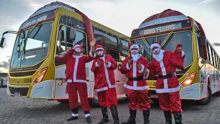 Maceió terá ônibus iluminados nos corredores de transportes