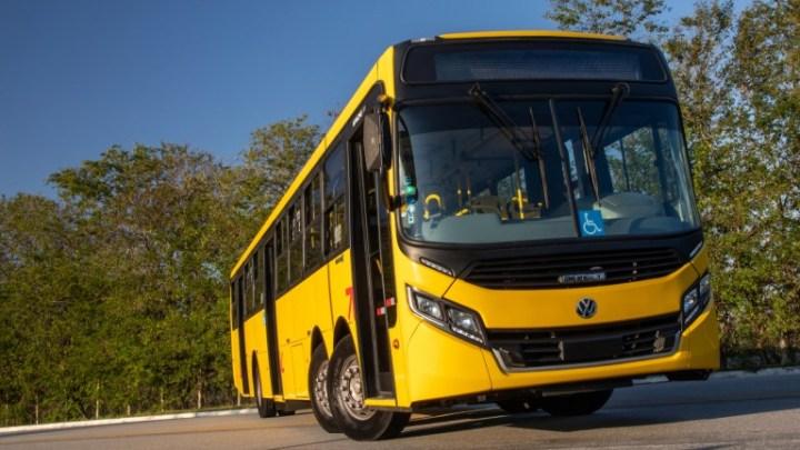 Curitiba: Volksbus inicia testes com ônibus de 15 metros no primeiro semestre de 2021