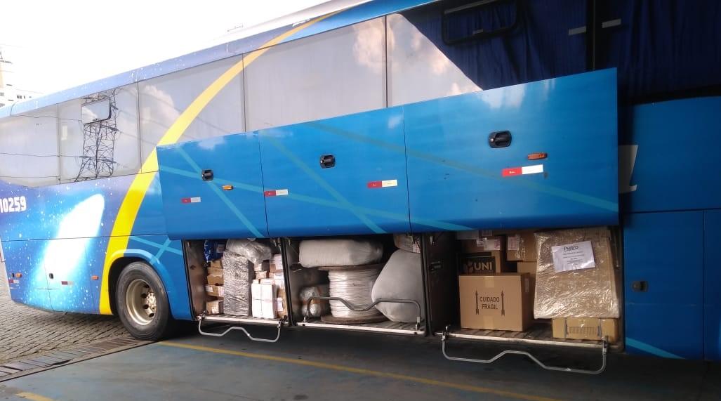 Grupo JCA encerra ano com mais de 250 toneladas de doações transportadas