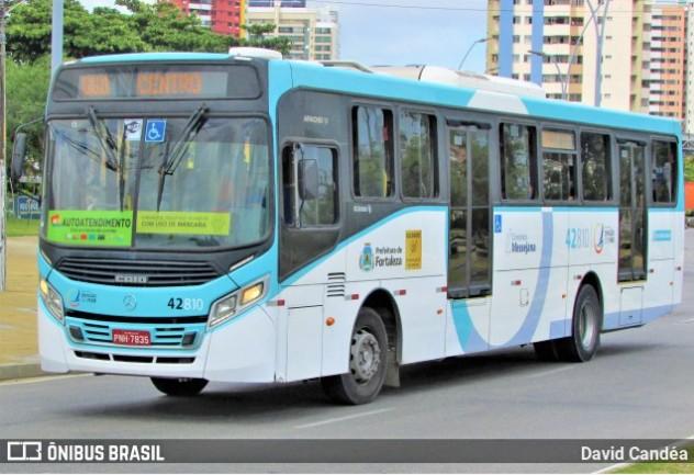 Passageiro mata a tiros assaltante de ônibus em Fortaleza nesta
