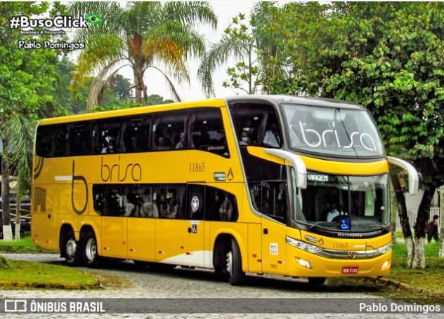 Viação Brisa inicia operação com ônibus DD na Rio x Juiz de Fora x Rio